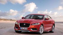 2016 Jaguar XF rendering