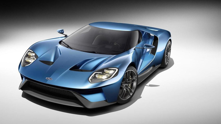 The Ford GT was designed in basement to keep it away from prying eyes