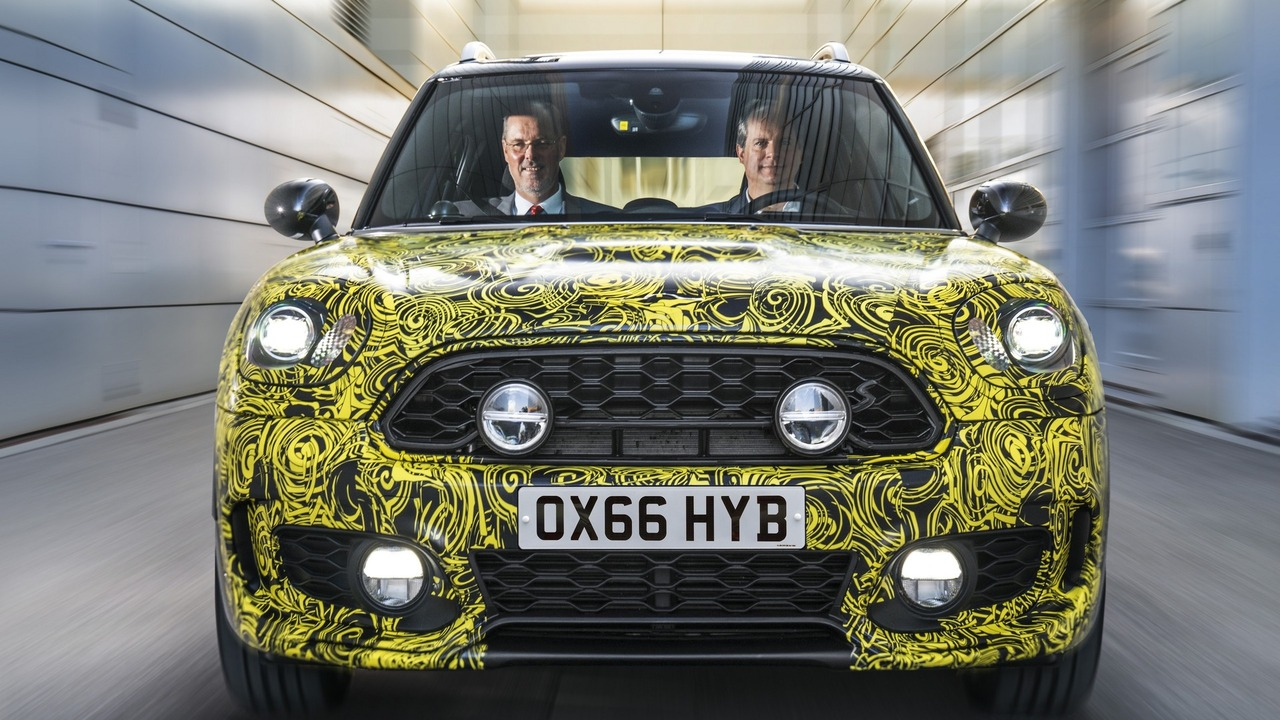 Mini Countryman hybrid