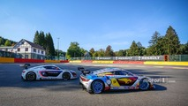 #9 Team Marc VDS Renault RS01- Markus Palttala, Fabian Schiller and #2 R-ace GP Racing Renault RS01- Raoul Owens, Fredrik Blomstedt
