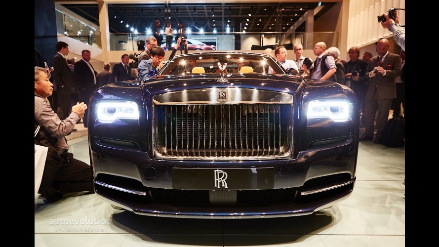 Rolls Royce Dawn 2016