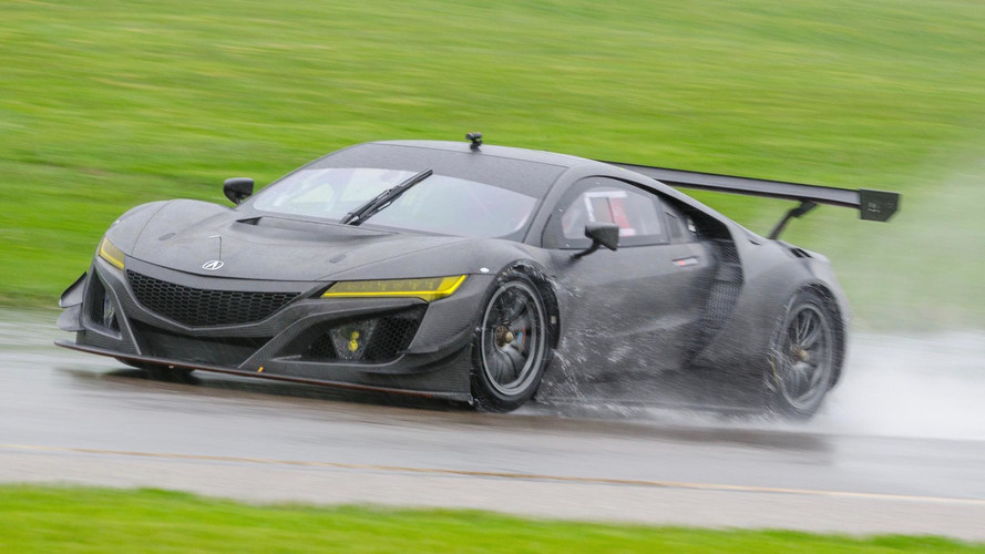 Acura Prices NSX GT3 From €465,000, Ships Globally