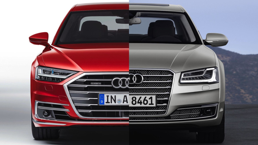 Audi A Can You Spot The Differences - Audi a8