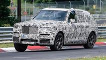 Rolls-Royce Cullinan Nürburgring Photos espion