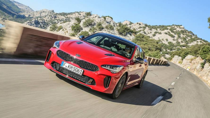 2018 kia stinger gt s first drive the 40k kia. Black Bedroom Furniture Sets. Home Design Ideas