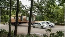 Nissan e-NV200, EV araçlar için en ağır çekme rekorunu kırdı