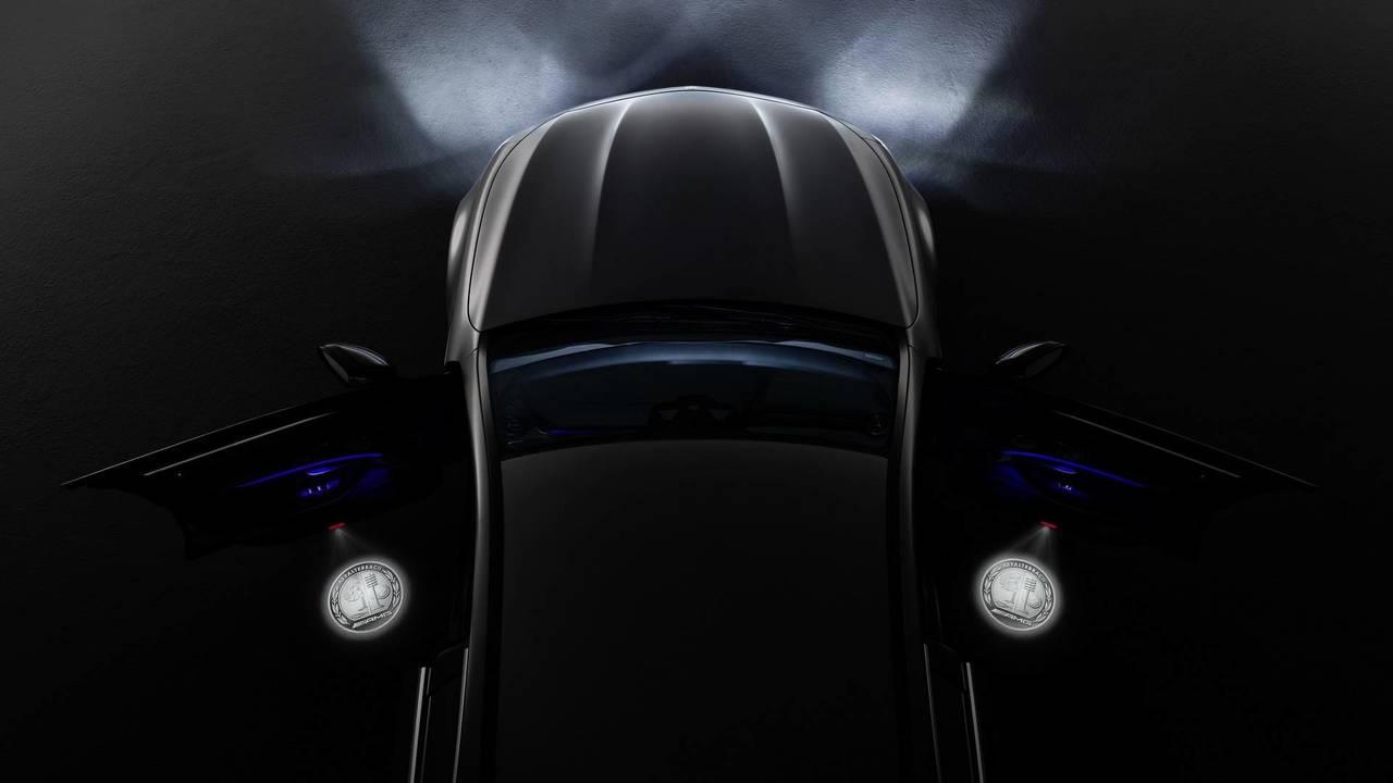 Mercedes-AMG LED door projector