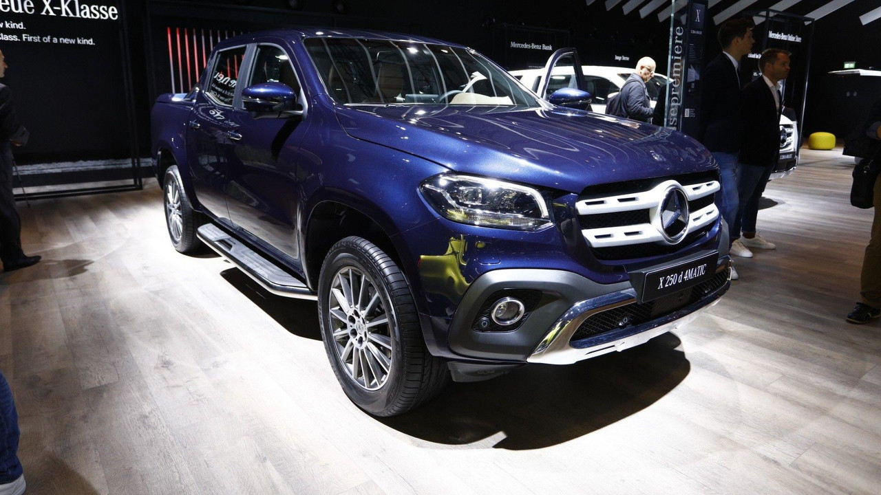 shots fired bmw exec says mercedes x class is appalling. Black Bedroom Furniture Sets. Home Design Ideas