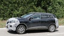 2019 Renault Kadjar facelift spy photo