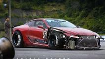 Lexus LC 500 drift car render