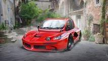 LaFerrari and Fiat Multipla mashup