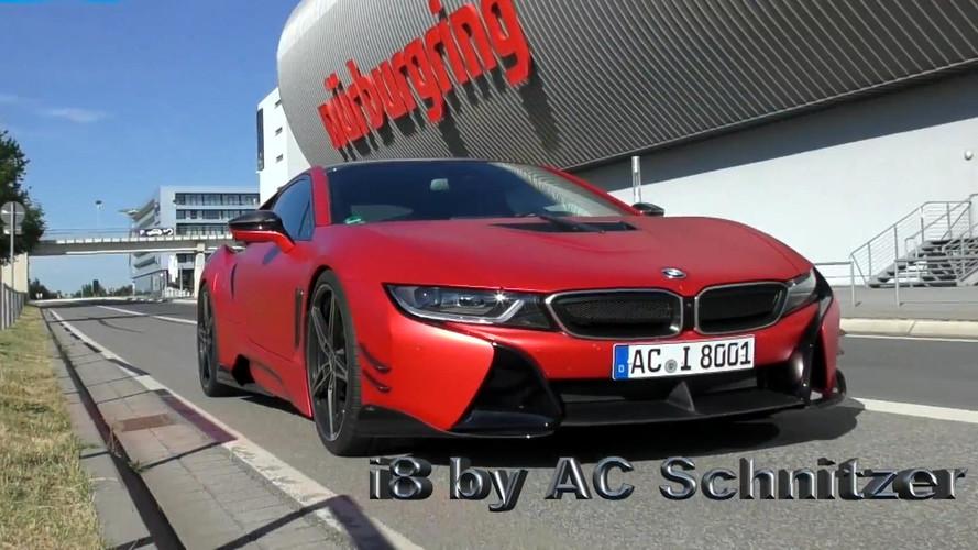 AC Schnitzer'in modifiye ettiği BMW i8 Nürburgring'i  8.19'de turladı