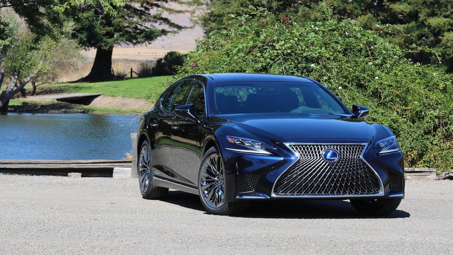 lexus considering more powerful hybrid ls full ev also possible. Black Bedroom Furniture Sets. Home Design Ideas