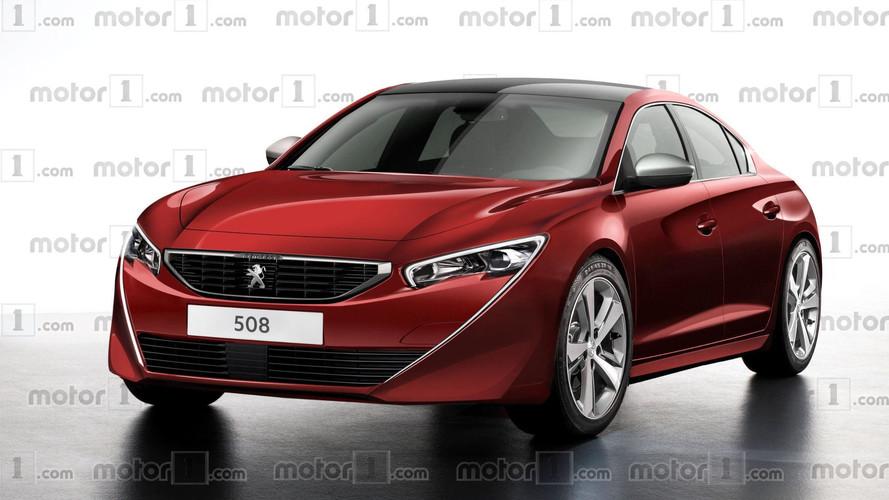 2018 Peugeot 508'e harika tasarım yorumu