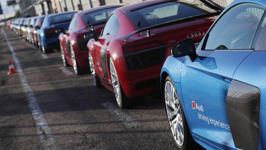 Audi Sportscar: así es el curso de conducción deportiva de Audi
