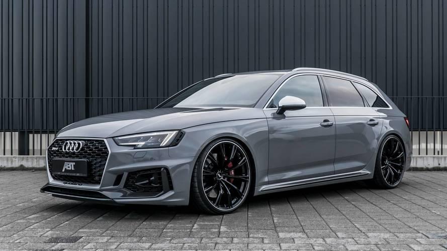 Audi RS4 ABT, con RS3 e RS5 sfonda il muro dei 1.500 CV