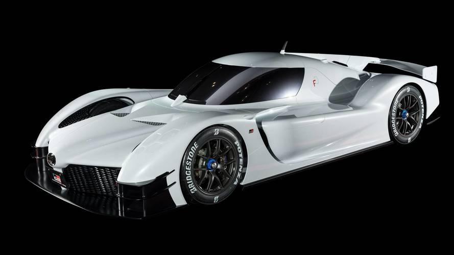 A versenypályák ihlették: 1000 lóerős koncepció a Toyotától