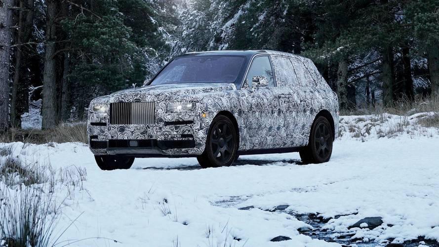 Le SUV de Rolls-Royce s'appellera finalement bien Cullinan