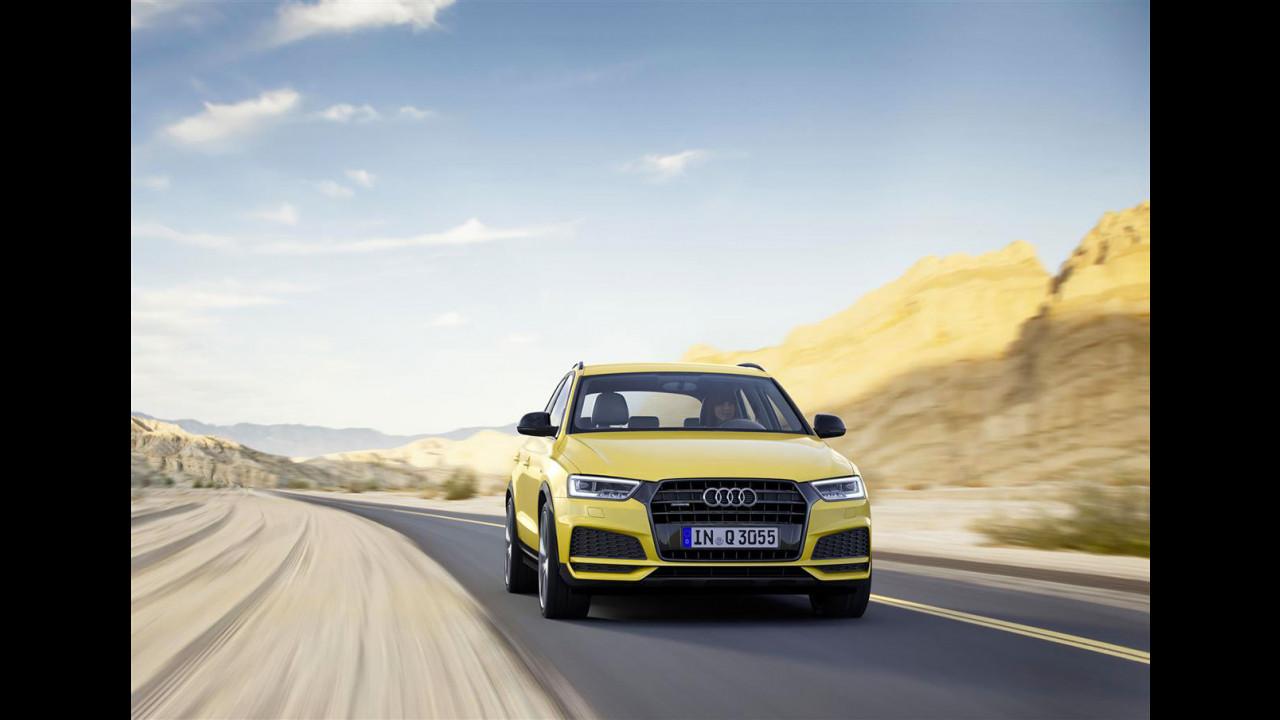 Nuova Audi Q3 S Line Competition