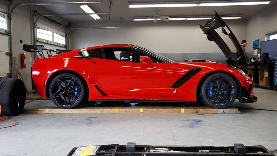 2019 Chevy Corvette ZR1 0'dan 100'e 2.85 saniyede çıkacak