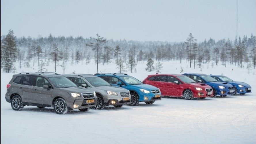 Subaru, la trazione integrale a prova di neve