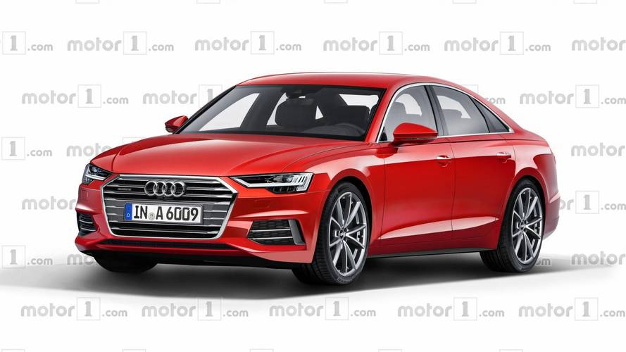 Imaginamos cómo será el futuro Audi A6 2018