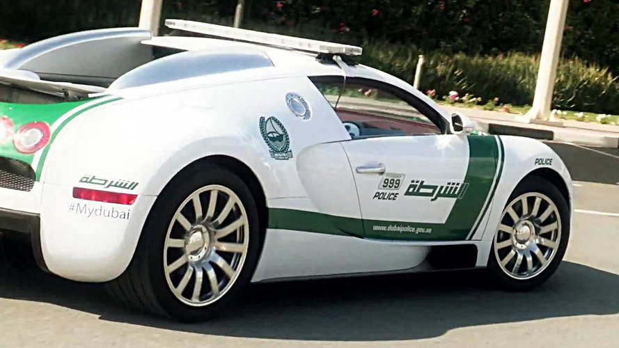 Dubai Police finally adds Bugatti Veyron to its already impressive fleet [video]