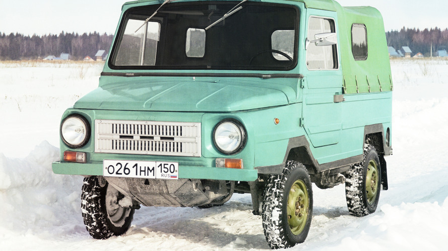 Soviet Cars Were Weird: LuAZ-969