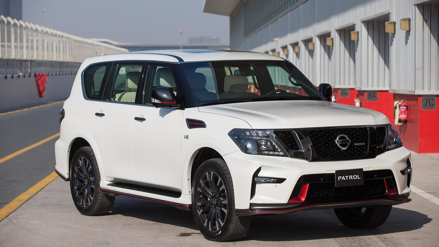 Nissan introduces 428 bhp Patrol NISMO in Dubai to celebrate NISMO launch in the Middle East [video]