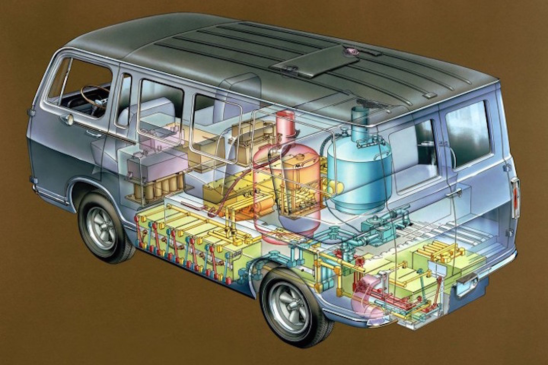 Weird Car of the Week: GM's Hydrogen-Powered Handi-van