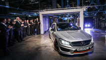 Mercedes CLA Shooting Brake production in Kecskemét, Hungary