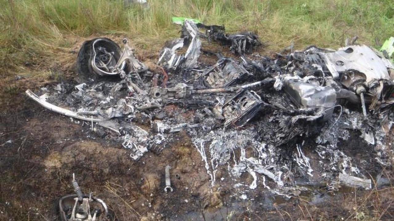 Lamborghini Huracan crash in Hungary
