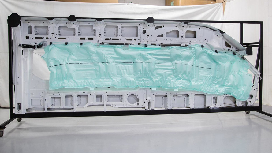 2015 Ford Transit features industry's first five-row side curtain airbag [video]