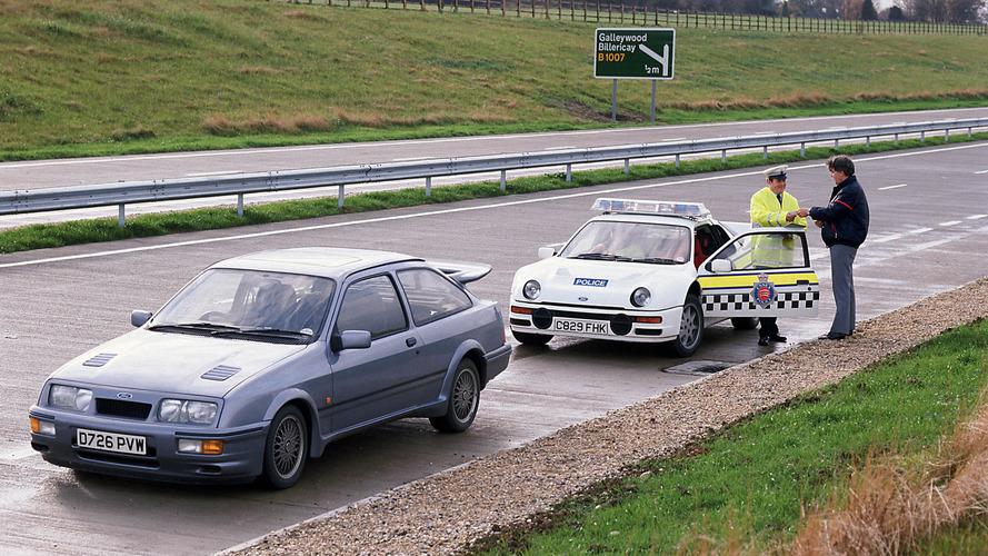 İngiliz polisinin Ford Focus RS'i