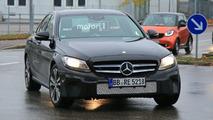 Flagra: Mercedes-Benz Classe C 2018