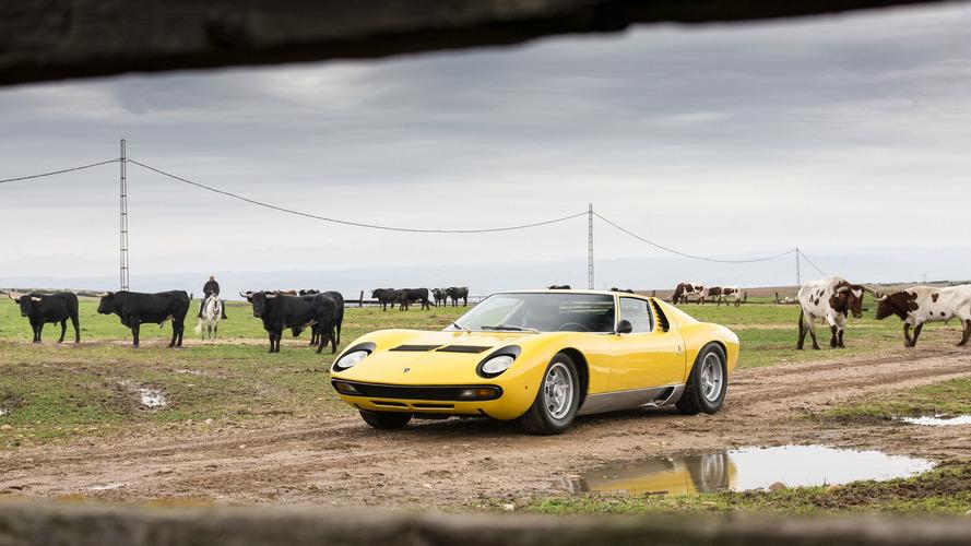 Lamborghini Miura 50 yaşında