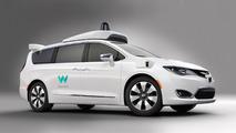 Google's driverless Waymo based on Chrysler Pacifica Hybrid