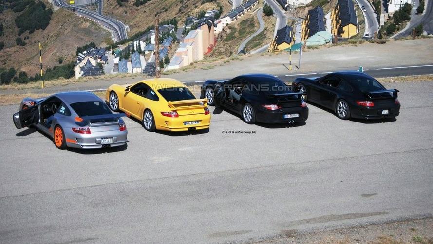New Porsche 911 GT3 Facelift Spied in Spain