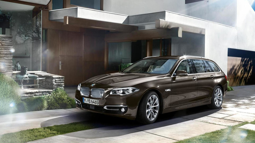 2014 BMW 5-Series facelift lineup officially revealed [videos]