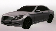 Mercedes S500 Hybrid Plus patent photo 07.6.2013
