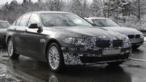 2014 BMW 5-Series spy photo 20.2.2013