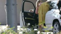 Mercedes GLK Undisguised on TV Set