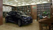 BMW i3 dans une bibliothèque