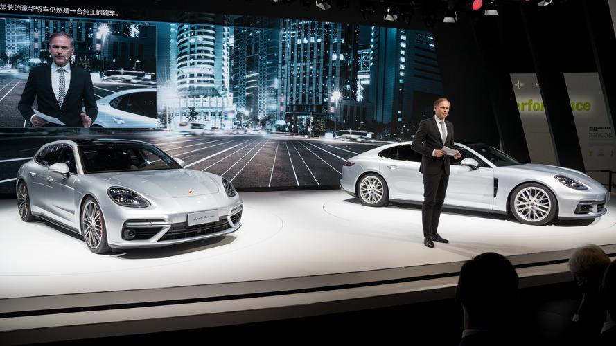 Çin pazarına özel arkadan çekişli Panamera Executive