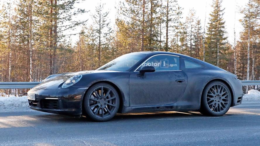 Yeni nesil Porsche 911 casus fotoğrafları