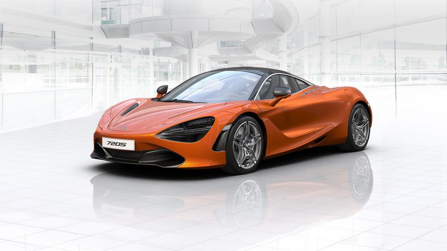 McLaren 720S online configurator launched