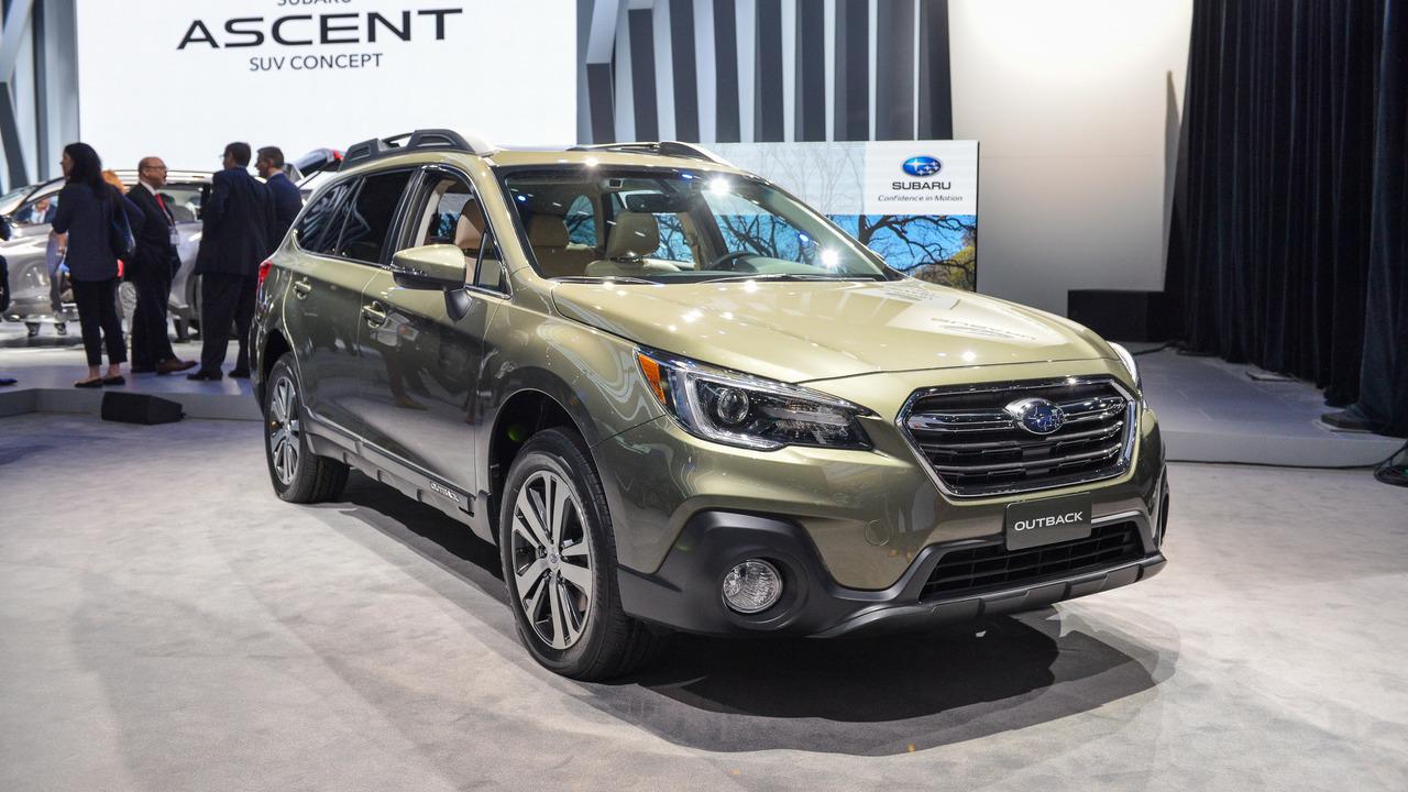 2018 Subaru Outback New York 2017