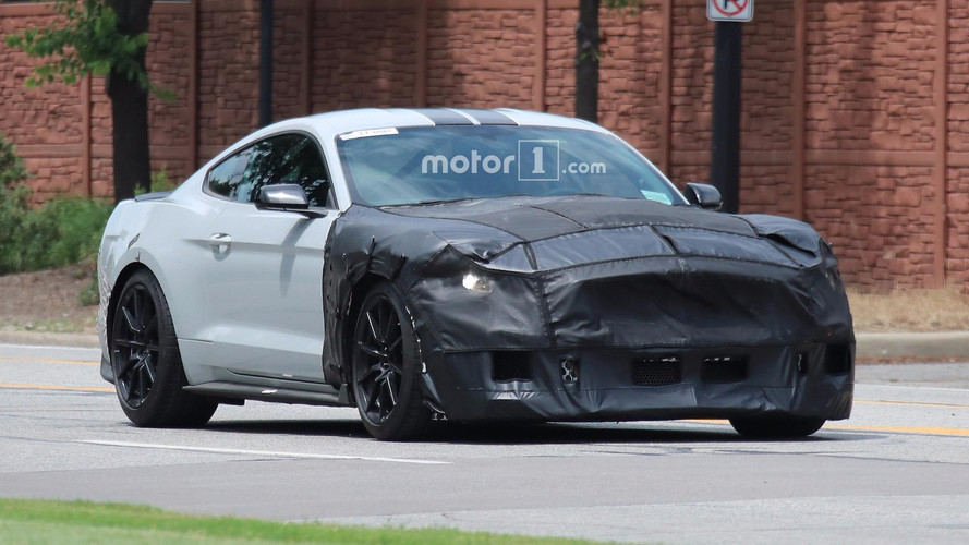 Ford Mustang with unique badge seemingly confirms Bullitt edition