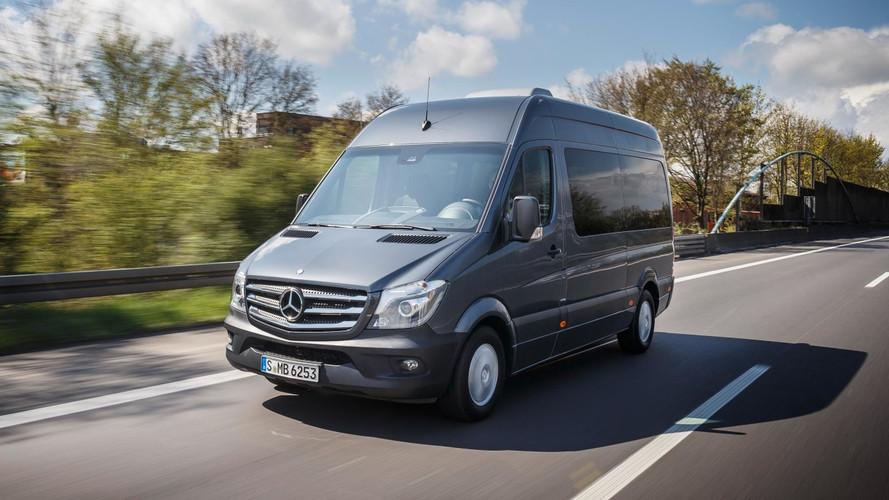 Mercedes Sprinter agora sai de fábrica com velocidade limitada