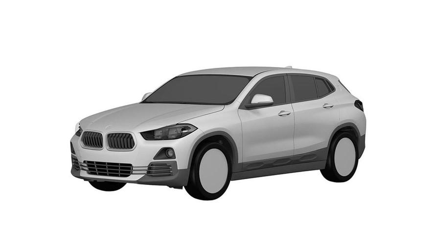 BMW X2 Revealed In Patent Image Leak